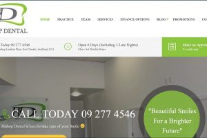 Bishop_Dental_Portfolio_Ultimate_Web_Designs_Limited