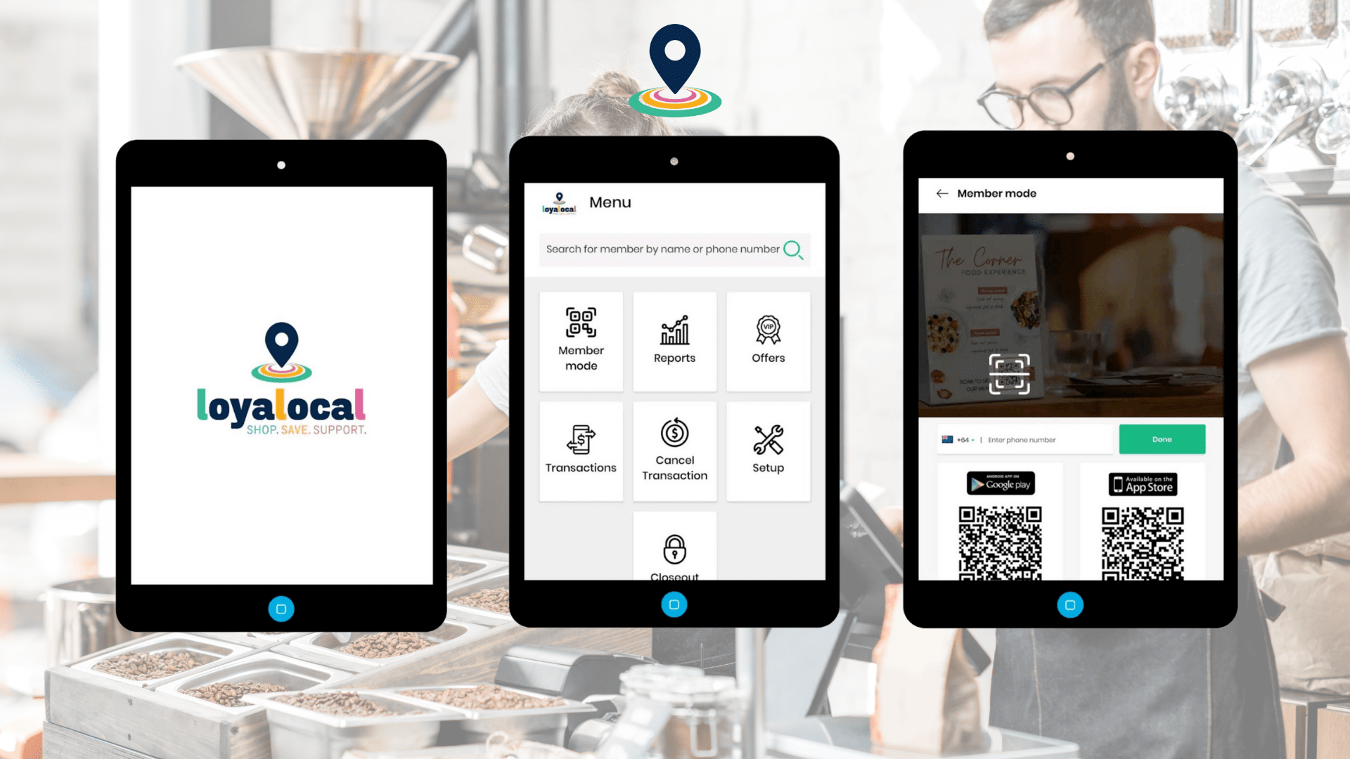 Loyalocal Merchant App